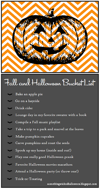 download the pdf version of our fall and halloween bucket list - List Of Halloween Music