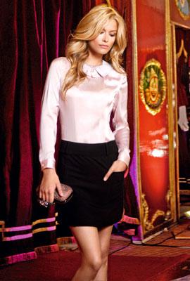 falda y blusa de fiesta