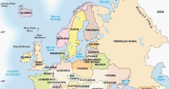 Fontes de geografia mapa politco da europa sciox Image collections