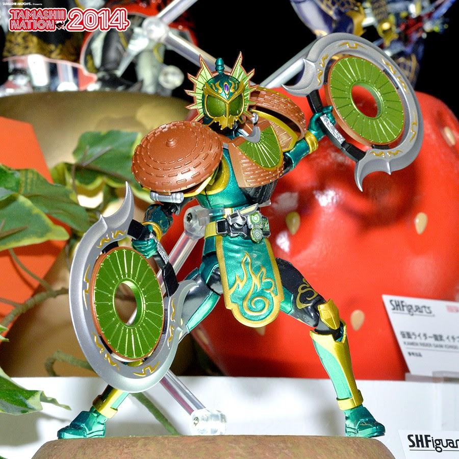 SH Figuarts Kamen Rider Ryugen Kiwi Arms