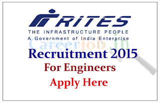 RITES Limited Recruitment 2015 for the post Engineer / Technical Assistant