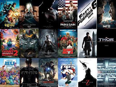 Daftar Film Bioskop Paling Populer tahun 2013