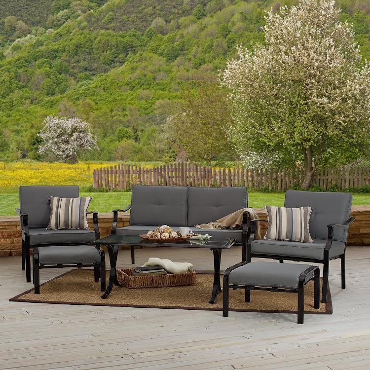 Outdoor Furniture Blog Strathwood Basics 6 Piece Furniture Set Review