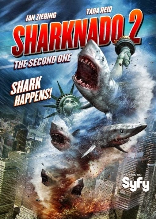 Sharknado 2: The Second One 2014 HDTVRip ταινιες online seires xrysoi greek subs