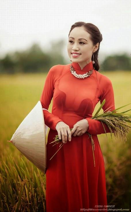 Ảnh gái đẹp diệu dàng trong tà áo dài 21
