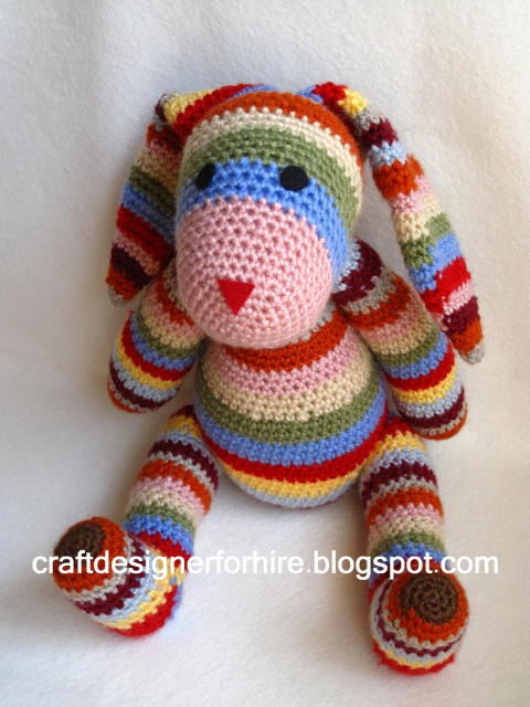 Crochet Craft Projects : Craft Designer for Hire: Free Crochet Rabbit Project from Craft ...