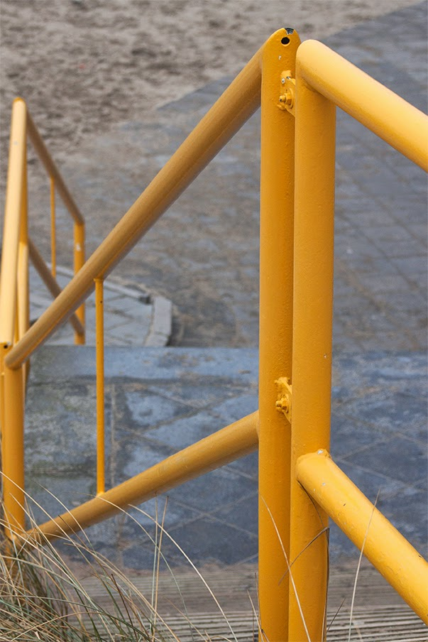 yellow handrail III