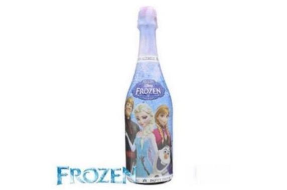Isu botol minuman Frozen menyerupai botol arak