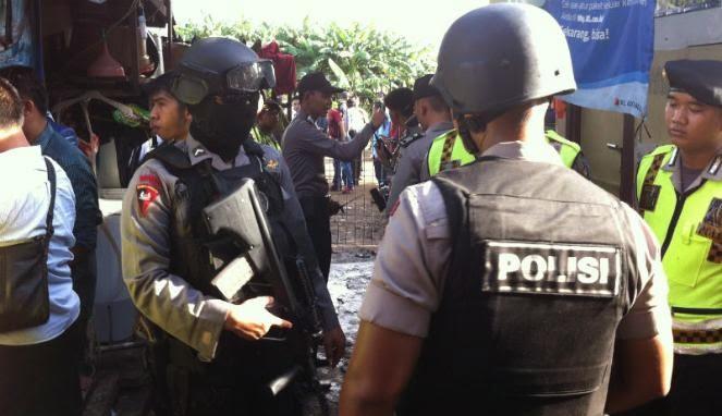 Polisi Temukan Bom Mekanik Aktif di Lokasi Ledakan