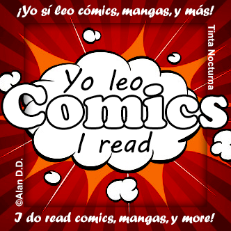 I read comics! / ¡Yo leo cómics!