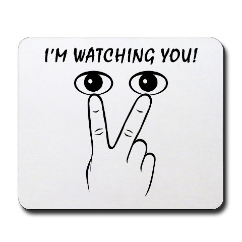 Clip Art Eyes Watching You Chorus of people watching.