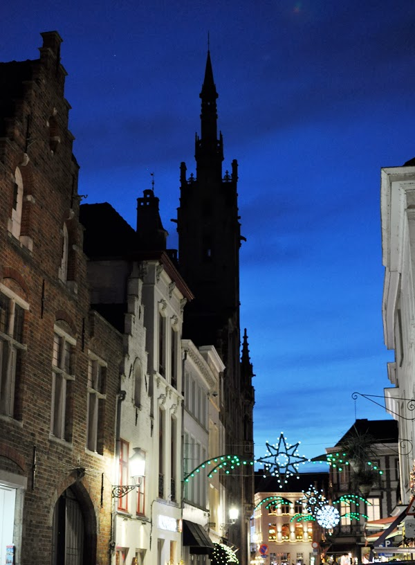 Bruges, Belgium at the holidays.