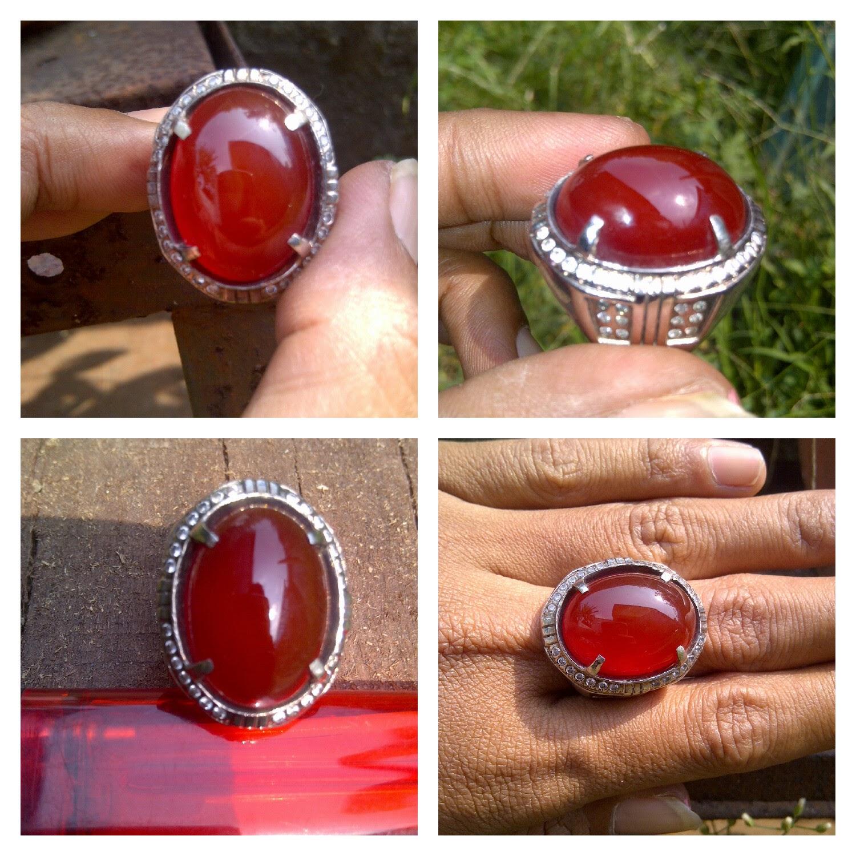 Jual Batu Cincin Red Baron Keladen