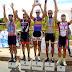 Ciclismo começa ano com prova equilibrada