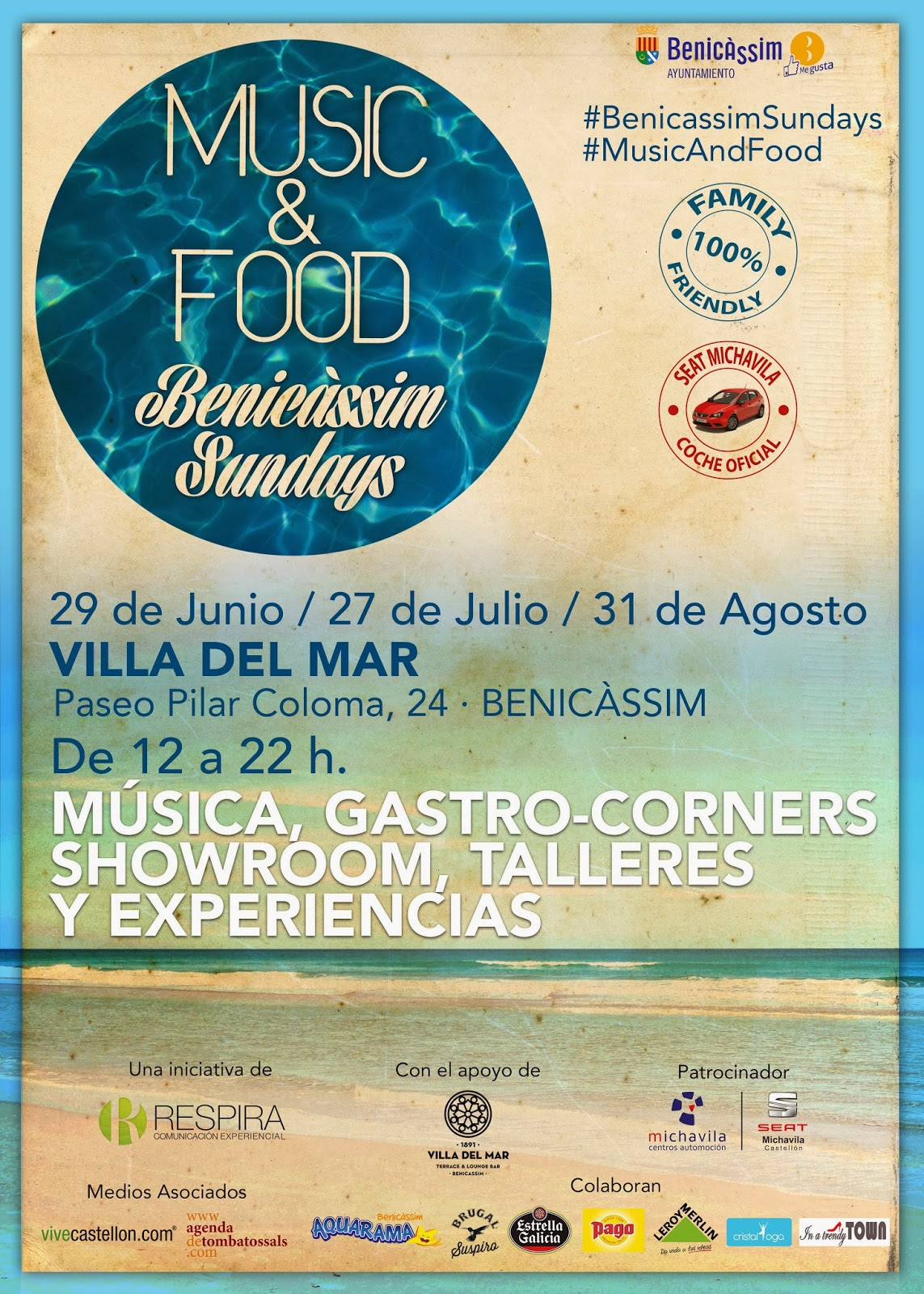 MUSIC & FOOD BENICASSIM