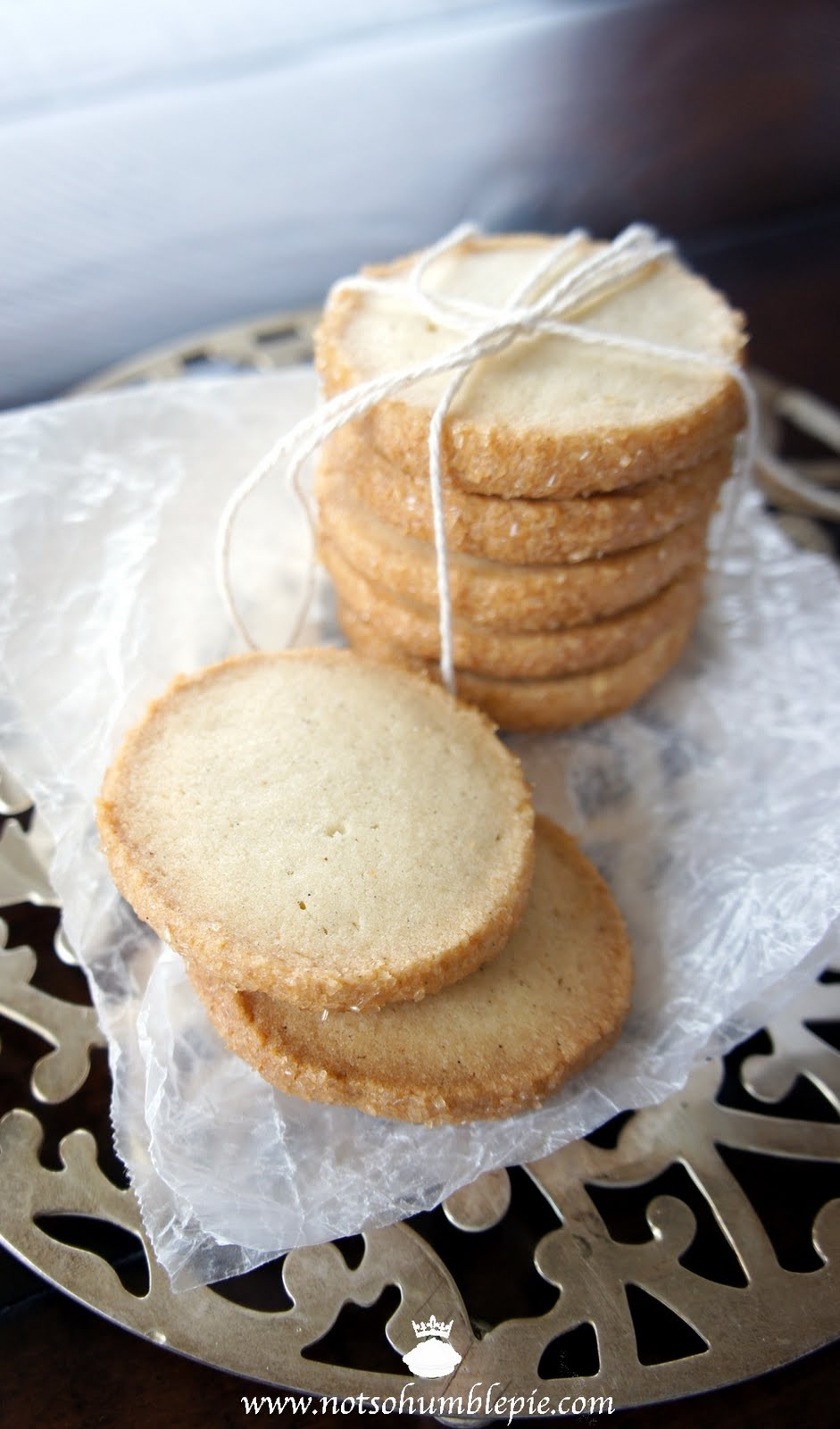 Not So Humble Pie: Cardamom Shortbread Cookies