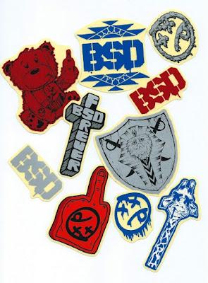 Pack de Stickers BSD $15.000