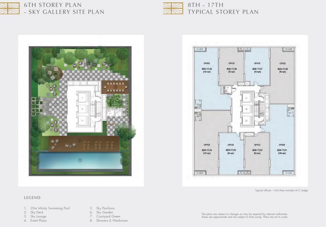 Crown at Robinson Site Plan