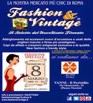 Fashion & Vintage - 8 Marzo