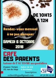 Prochain Café des parents autour de l'autisme
