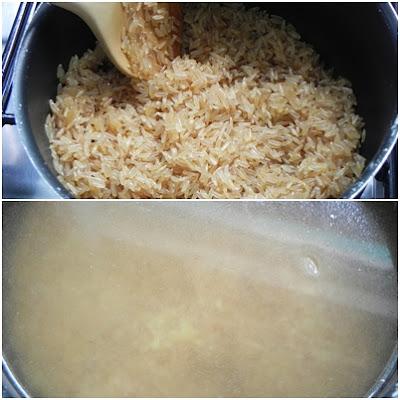arroz integral sabor