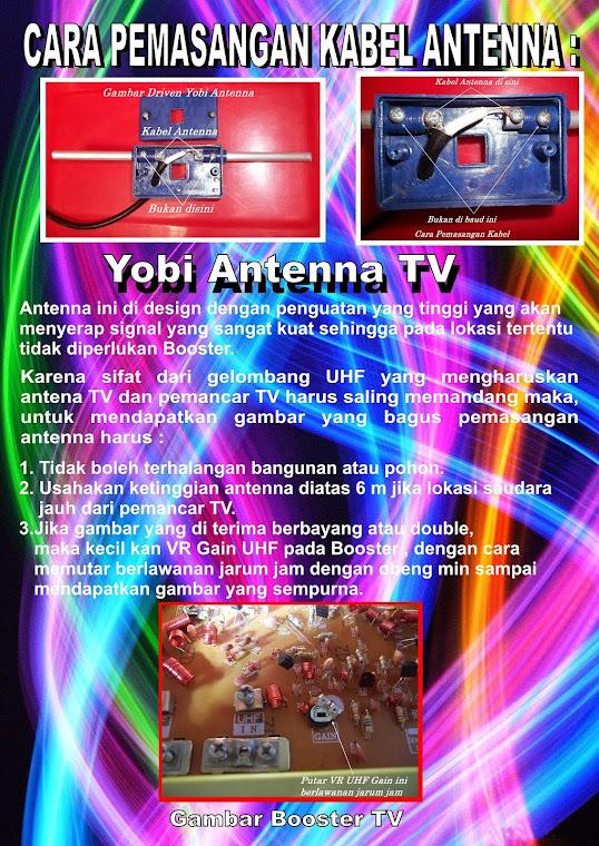 Brousur Antena TV Digital Yobi jika menerima Signal Analog