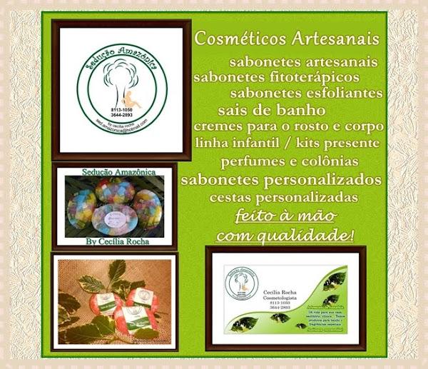 """""""SEDUÇÃO AMAZÔNICA - COSMÉTICOS ARTESANAIS"""""""