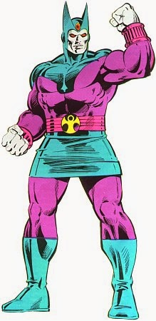 Dibujo del supervillano Esfinge-Marvel