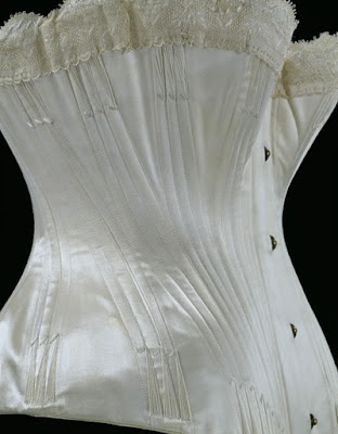 Wedding Corset circa 1887