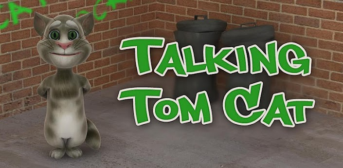 talking tom cat para android e iphone es una simpatica aplicacion para