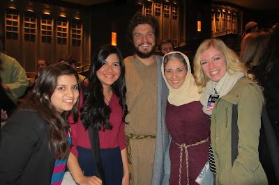 Savior of world with Joseph and Mary
