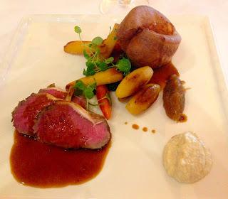 Roast sirloin of Cefn Mawr Beef