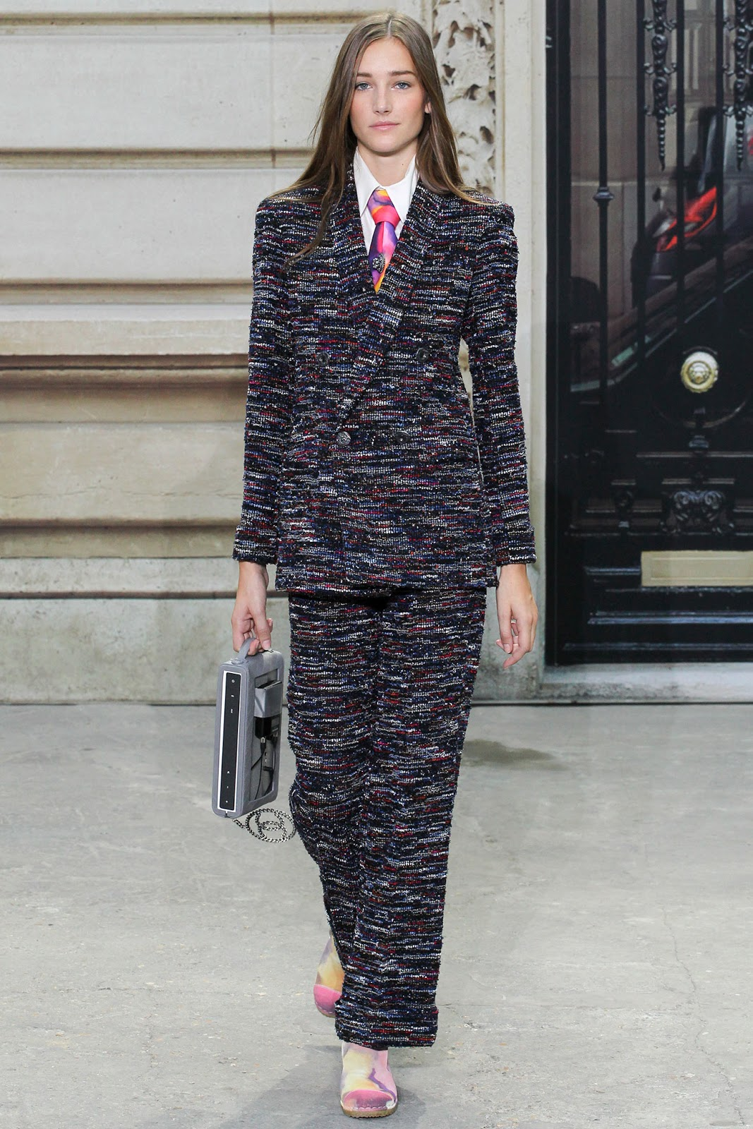 Chanel / Spring/Summer 2015 trends / trouser suit / styling tips and outfit inspiration / via fashioned by love british fashion blog