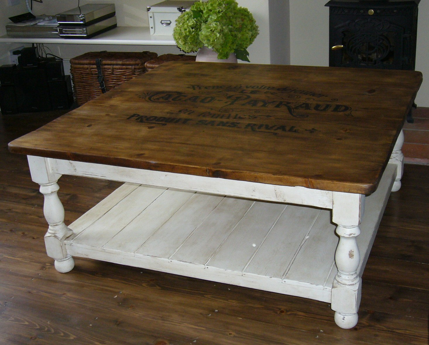 Olive maud coffee table with a delicious french feel for Table 52 oak brook