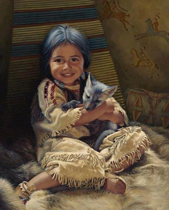criança india