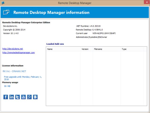 Remote Desktop Manager v10.1 Enterprise Full Patch