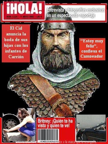El Cid anuncia la boda de sus hijas