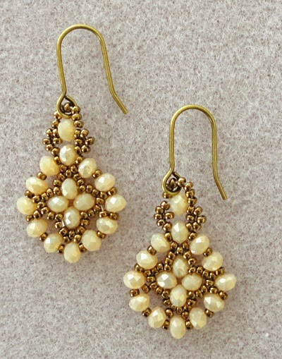 easy pretty beaded earrings you ve got to make the