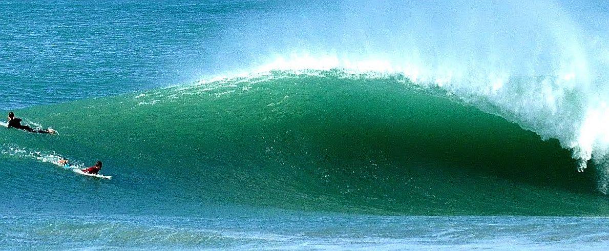 Big Surf at El Palmar - Olas Grandes en El Palmar Andalucía