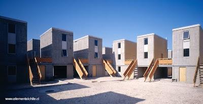 Proyecto Elemental casas en Chile