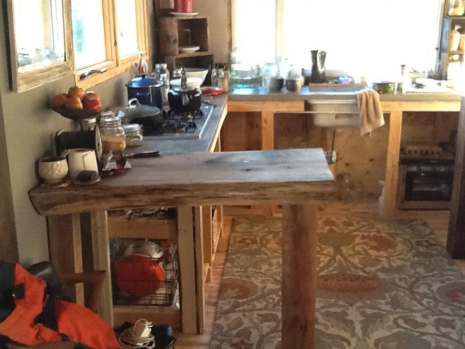 tiny house kitchen update