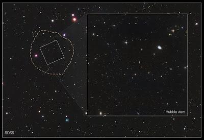 Penemuan Terbaru Galaksi 'Hantu'