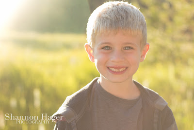Shannon Hager Photography, Oregon Forest, Sunset Portrait