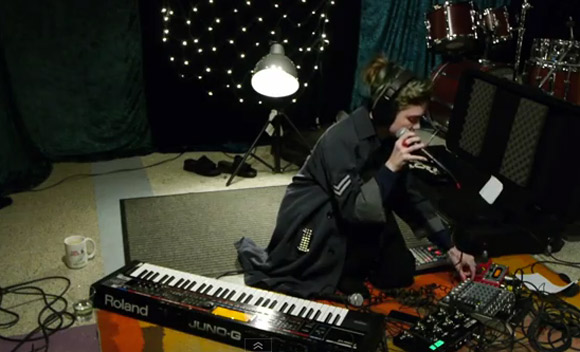 Grimes -  live in the KEXP studio