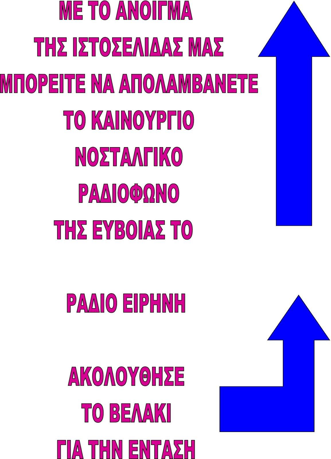 ΚΟΝΤΡΟΛ ΕΝΤΑΣΗΣ ΡΑΔΙΟΦΩΝΟΥ