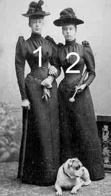 Marguerite et Marie d'Orléans-famille royale de France