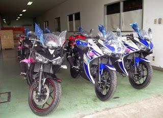 Yamaha R25 Baru