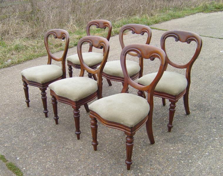 Balloon Back Chairs1. Balloon Back Chairs