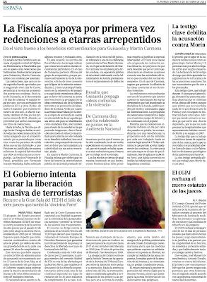 El juez Pedraz, el pijo rojo de los 80, no sólo suelta a sus coleguillas de ideología, sino que justifica su acción de intentar asaltar el parlamento por la decadencia de la clase política