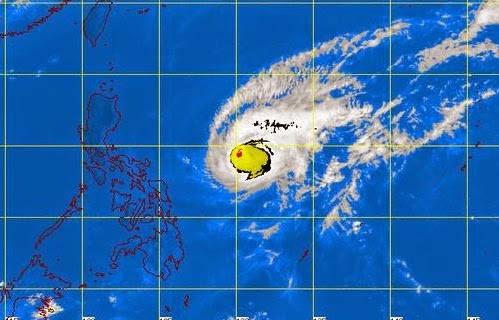 Typhoon Chedeng Latest Forecast